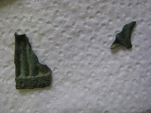 Part of the same artifact? Or not? Maybe? Help!! Leave your guesses in the comments!